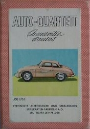ASS Auto-Quartett, Quadrille d'autos 1958