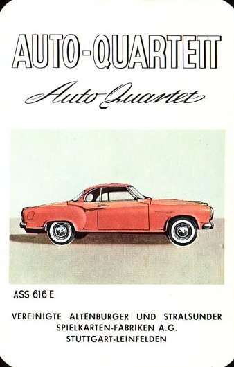 ASS Auto-Quartett 1959