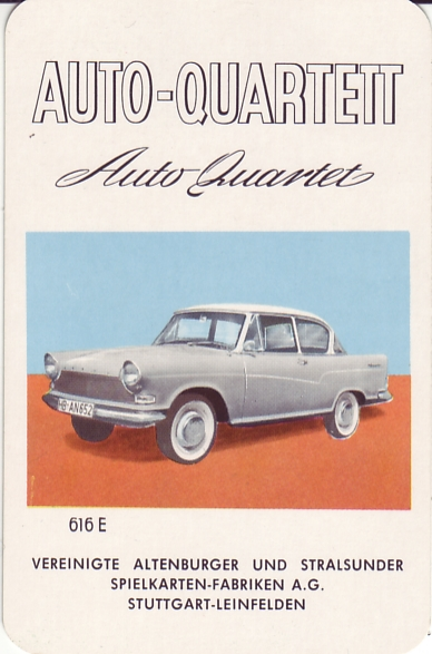 ASS Auto-Quartett 1960