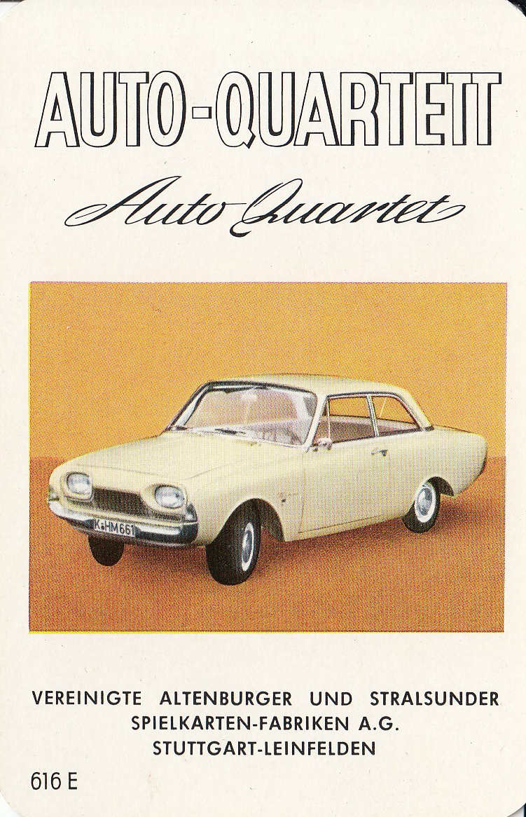 ASS Auto-Quartett 1961