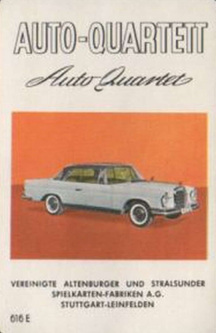 ASS Auto-Quartett 1962