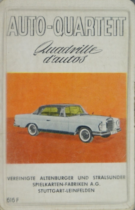 ASS Auto-Quartett, Quadrille d'autos 1962