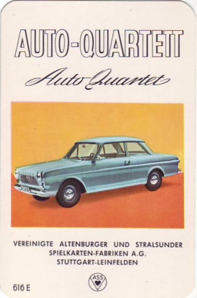 ASS Auto-Quartett 1963