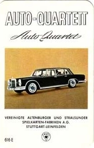 ASS Auto-Quartett 1964