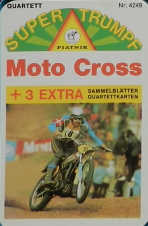 Piatnik Super Trumpf 4249 1977, Moto Cross